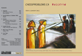 chess bulletin Canada by Cornel Pacurar