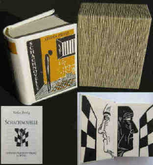 Stefan Zweig chess story 2013 miniature book illustrated illustrated by the artist Elke Rehder